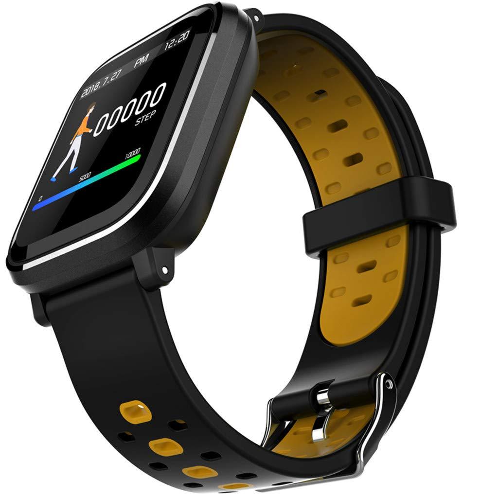 TADAMI Fitness Tracker Heart Rate Blood Pressure Bracelet Monitor Large Color Screen IP67 Waterproof Activity Tracker Sleep Monitor, Pedometer Smart Wrist Band for Women Men