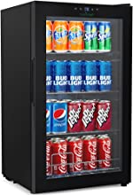 Nutrichef Wine and Beverages Chiller - Big Refrigerator Cooler with Multi-tier