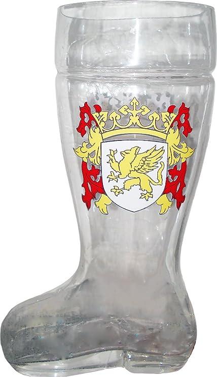 Glass Das Botas Beer Mug Mug Mug 1 Liter As Seen in Beerfest aa0d8f