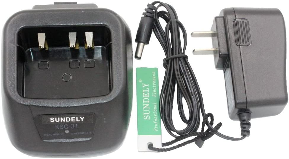 Battery /& Charger for Kenwood TK-2207 TK-2200 TK-2206 KNB-30A TK-2202E