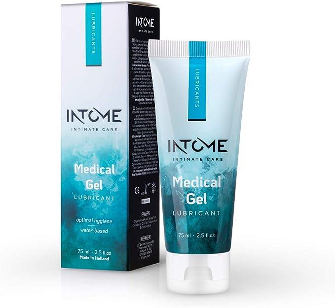 Intome Medical Gel Lubricant (75 ml); Lubricante a base de agua para uso vaginal y anal; Lubricante nutritivo para el sexo; Lubricante para todo tipo ...