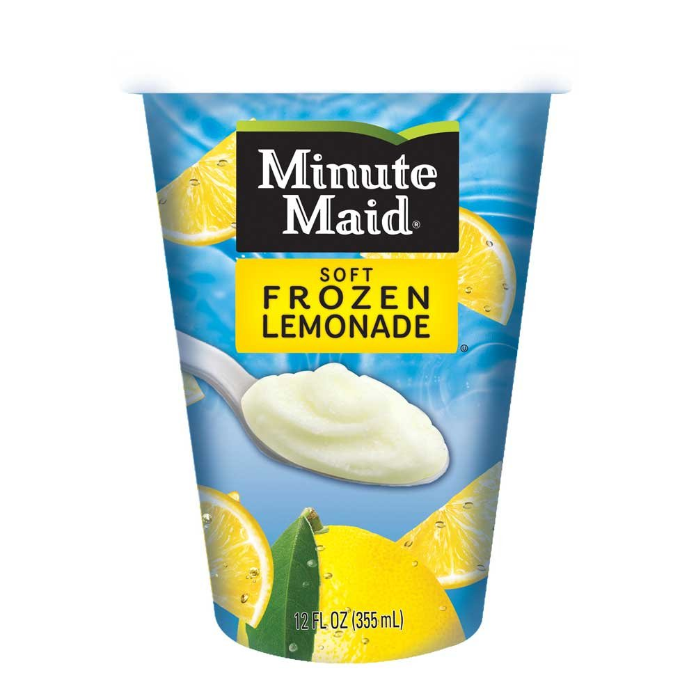 Minute Maid Soft Frozen Strawberry Lemonade Cups, 12 Ounce