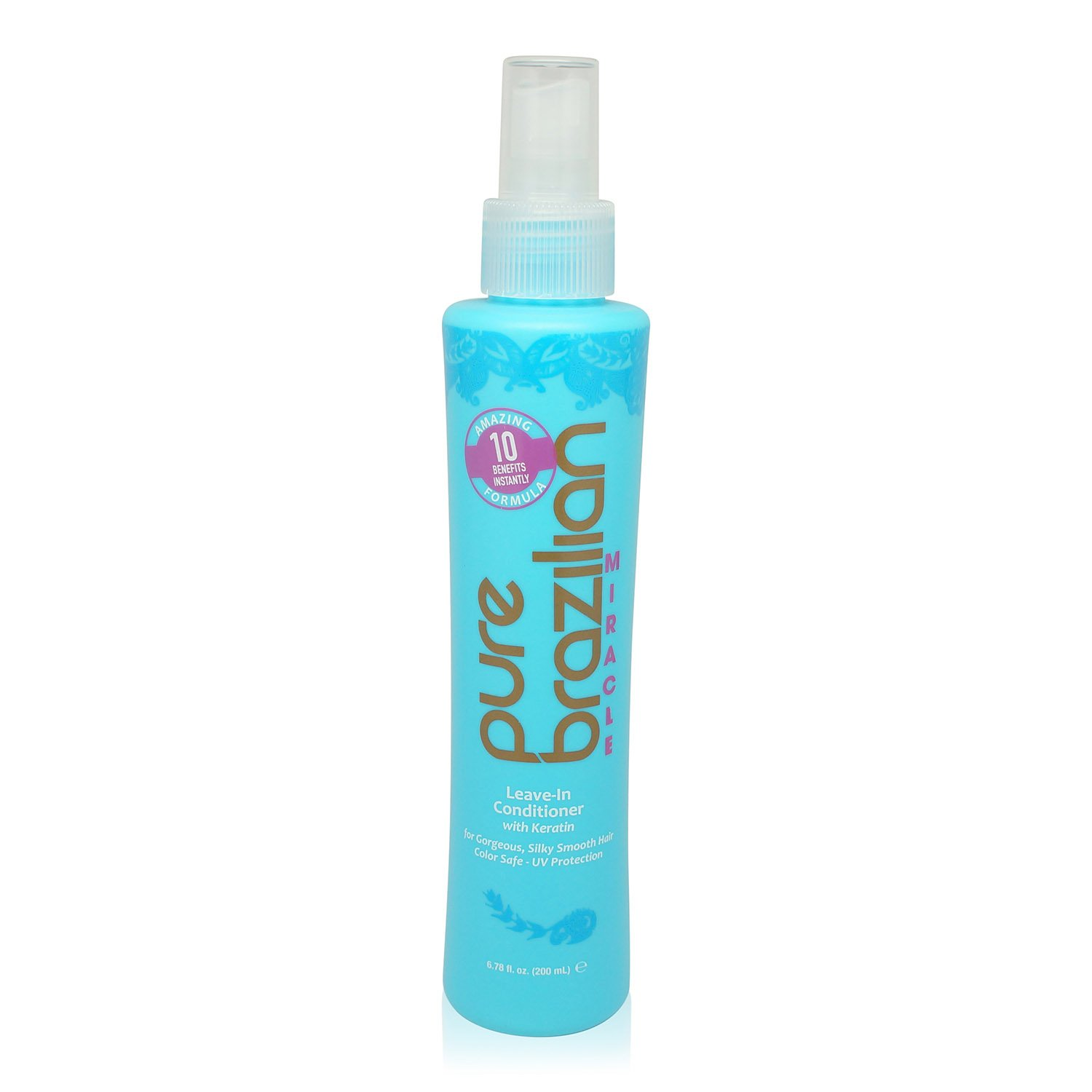Pure Brazilian - Miracle Leave In Conditioner with Keratin (6.78 Fluid Ounce)