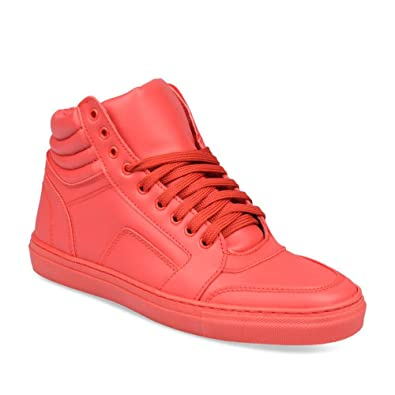 Baskets ROUGE FREECODER SPORT Homme Chaussea: