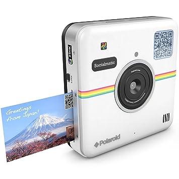 Amazon.com : Polaroid Socialmatic Instant Digital Camera (Black ...