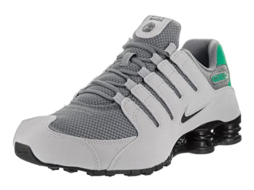 d0eb6172b5fe41 Nike Men s Shox NZ SE Running Shoe Baroque Brown Black Metallic Silver 10.5  D(M) US  Buy Online at Low Prices in India - Amazon.in