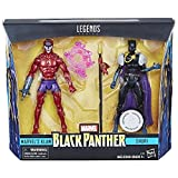 Marvel Legends Black Panther 6 Inch Action Figures Shuri and Klaw