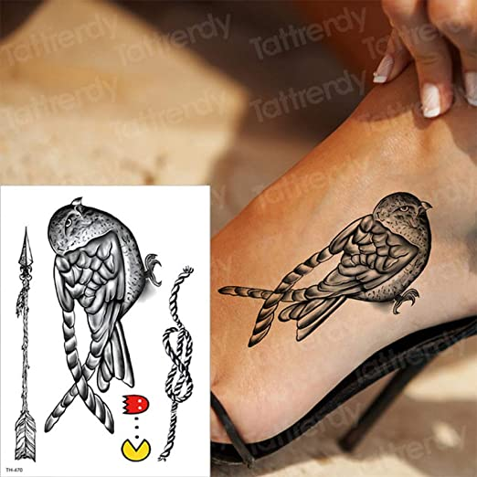 Handaxian 3 Piezas Etiqueta de Tatuaje a Prueba de Agua Letra de ...