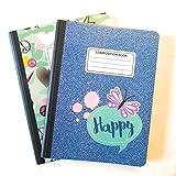Camo Cute Composition Notebooks - Set of 2 (Denim)