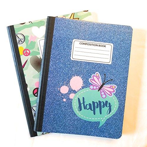 Camo Cute Composition Notebooks - Set of 2 (Denim) by JOT