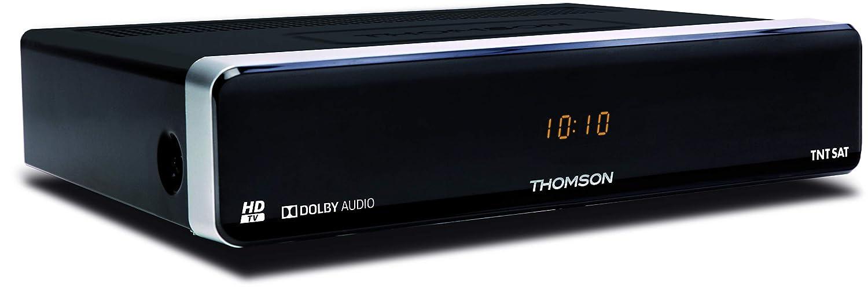 Thomson THS804 - Receptor satélite HD, (MPEG4, USB, 12 V), color ...