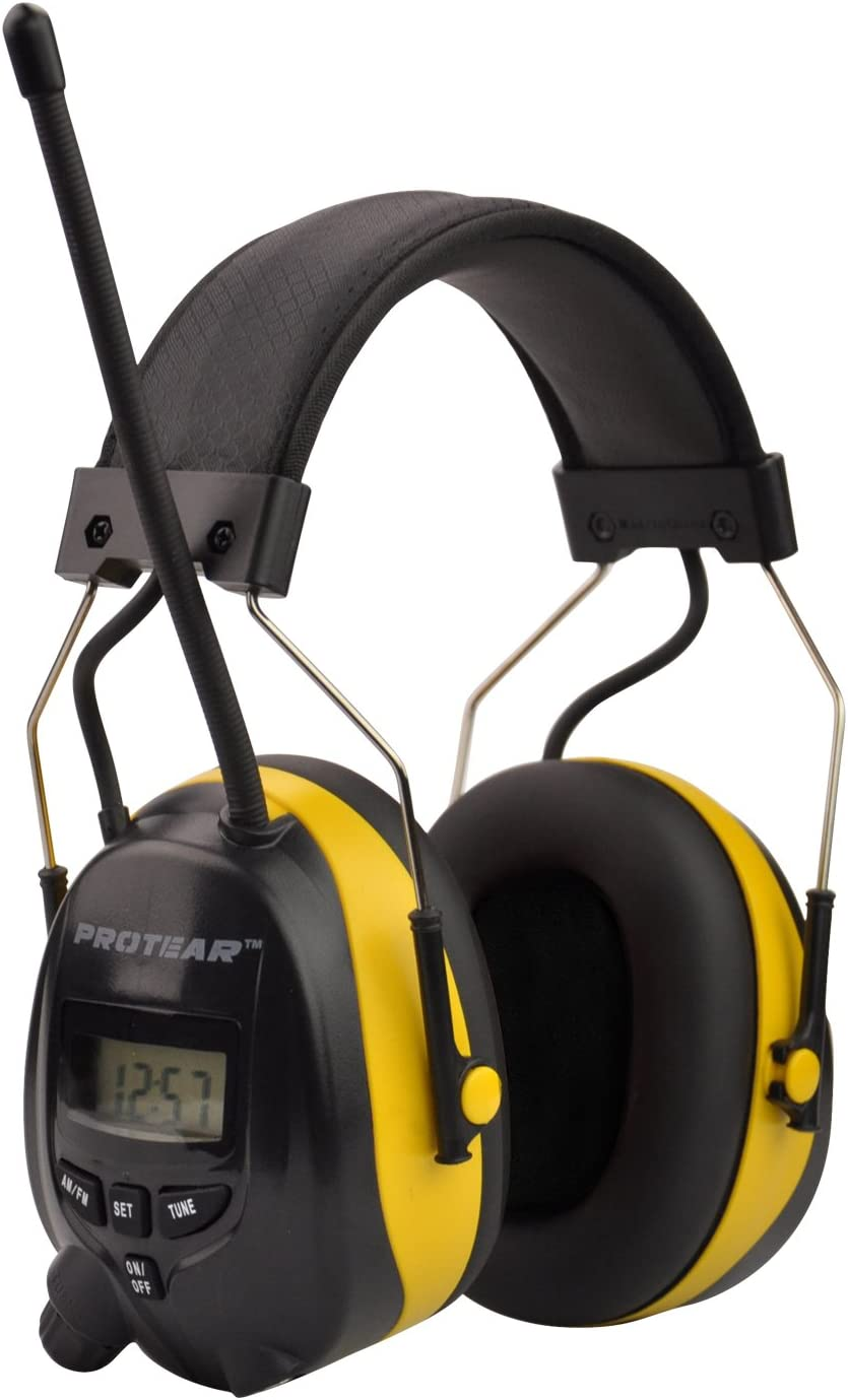 FM//AM Radio Noise Reduction Headset,Protear Ear Defenders with Stereo Headphone