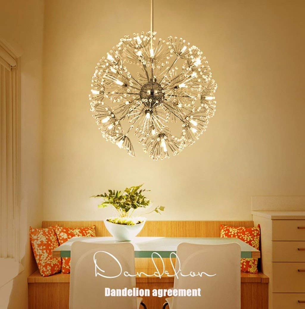 Amazon.com: PLLP Household Chandelier, Crystal Palace ...