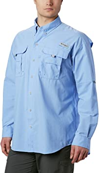 Columbia Bahama II - Camisa de Manga Larga para Hombre, Hombre, 1011621, Gorra Blanca, Extra-Large: Amazon.es: Deportes y aire libre
