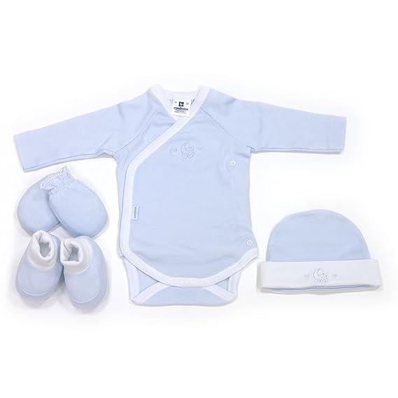 Cambrass 15710 - Juego de 4 piezas para bebe recién nacido dd2f884e7b5