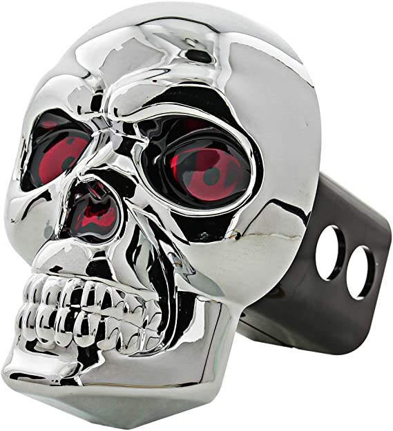 Punisher Skull Trailer Hitch Cover Truck Accessories Birthday Gift for Him Skull Punisher Metal Decor Truck Hitch