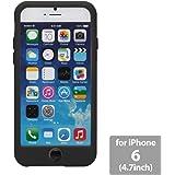OZAKI  iPhone 6用ケース O!coat Macaron for iPhone 6 Black ブラック OC563BK