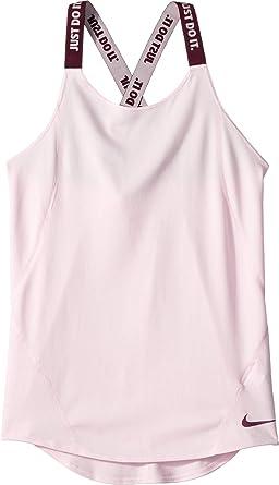 b4a0636a79 Amazon.com: Nike Kids Girl's Dry Training Tank Top Elastika (Little ...