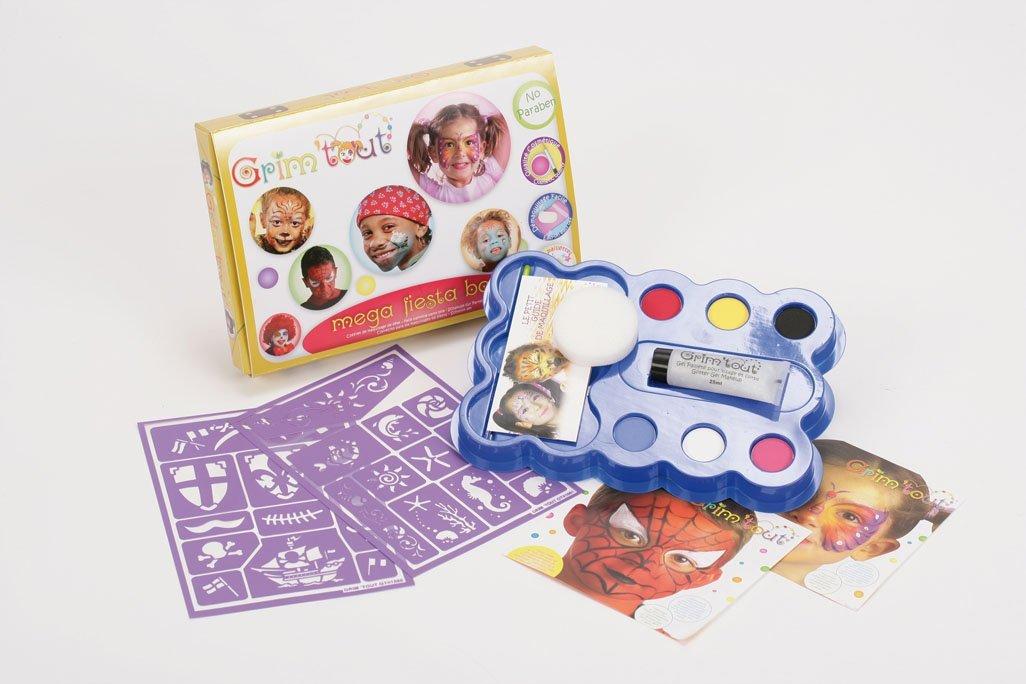 Grim' tout–fa10001–Set di trucco per bambini–senza parabeni OZ INTERNATIONAL