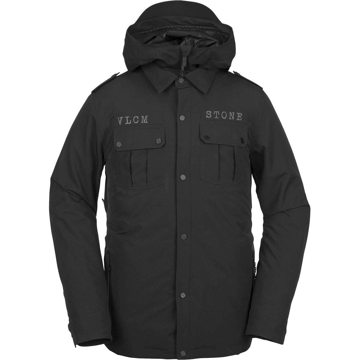 (ボルコム) Volcom Creedle2Stone Jacket メンズ スノーボード ウェア ジャケット黒 [並行輸入品] 黒 日本サイズ XL相当 (US XL)