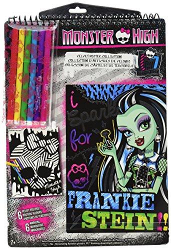 Fashion Angels Monster High Velvet Poster Collection (Monster High Kit)