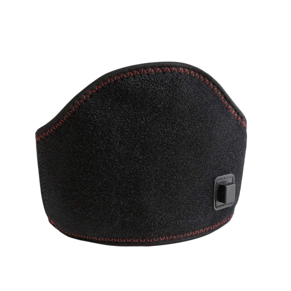 Healifty Cuello cervical de soporte de cuello de calefacció n elé ctrica para cuello Columna vertebral cervical (negro)