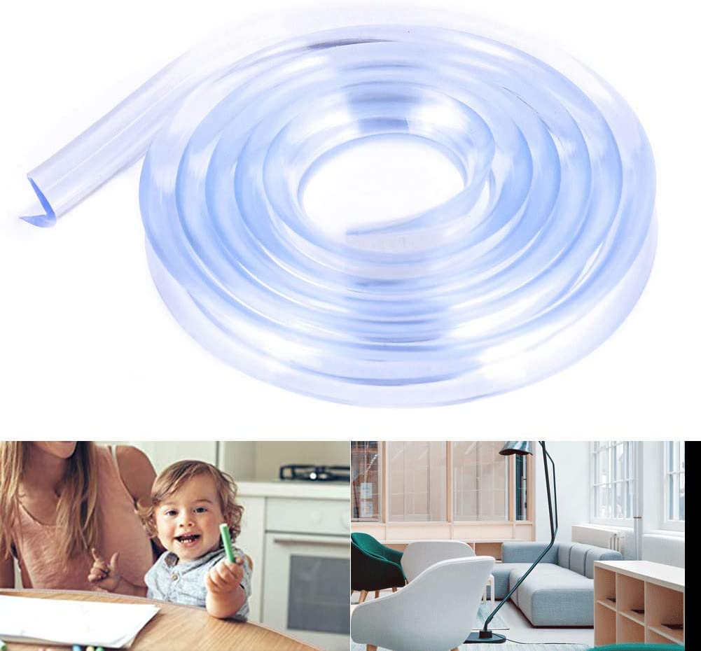 PoeHXtyy Transparent Table Edge Meubles Corner Protectors Baby Proofing Edge Safety Bumpers Strip Safety for Child