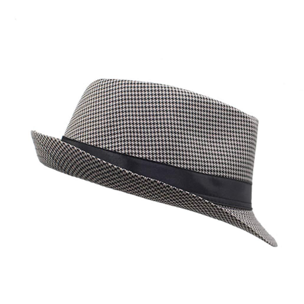 Unisex Fedoras Hat Felt Beach Caps Wide Brim Church Boater Sun Top Hats