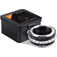 Nikon to Fuji X Adapter,K&F Concept Lens Mount Adapter with Aperture Control Ring for Nikon Nikkor G AI F Mount Lens to…