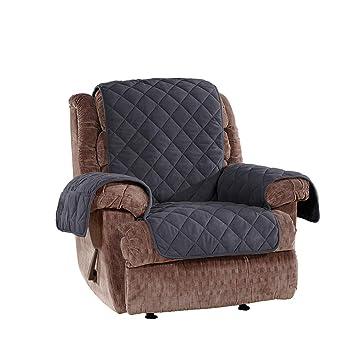 Amazon.com: Sure Fit sf44972 microforro Pet silla muebles ...