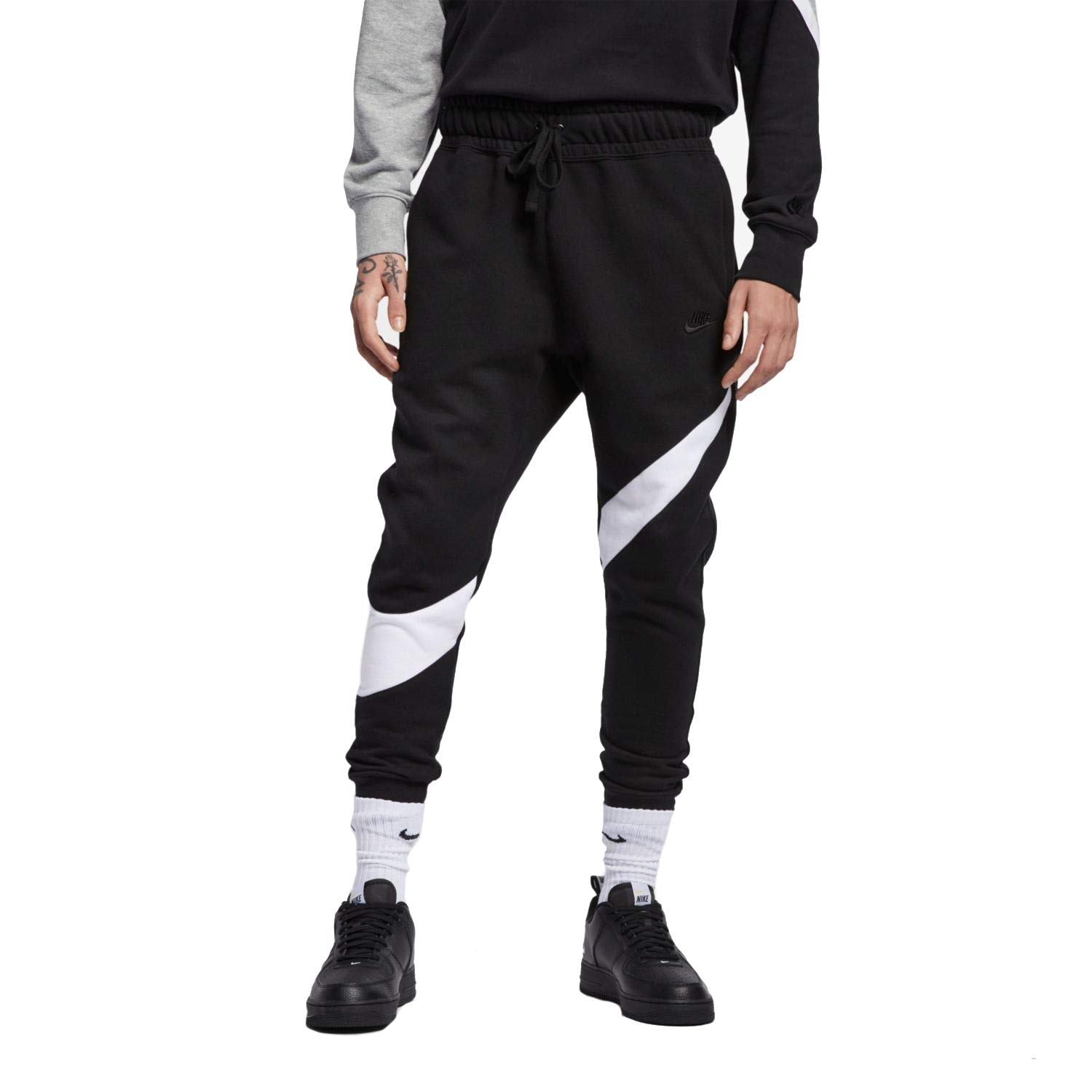 new release limited guantity separation shoes Nike Mens HBR Large Swoosh Jogger Sweatpants at Amazon Men's ...