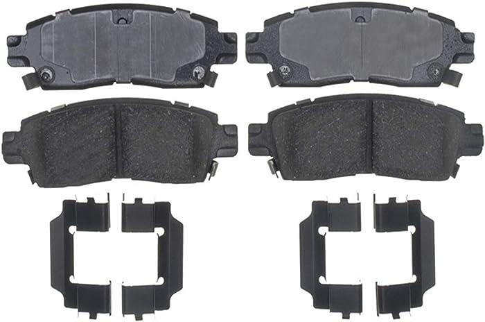 ACDelco 17D883CH Professional Ceramic Rear Disc Brake Pad Set