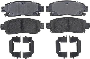 ACDelco Gold 17D685 Organic Rear Disc Brake Pad Set