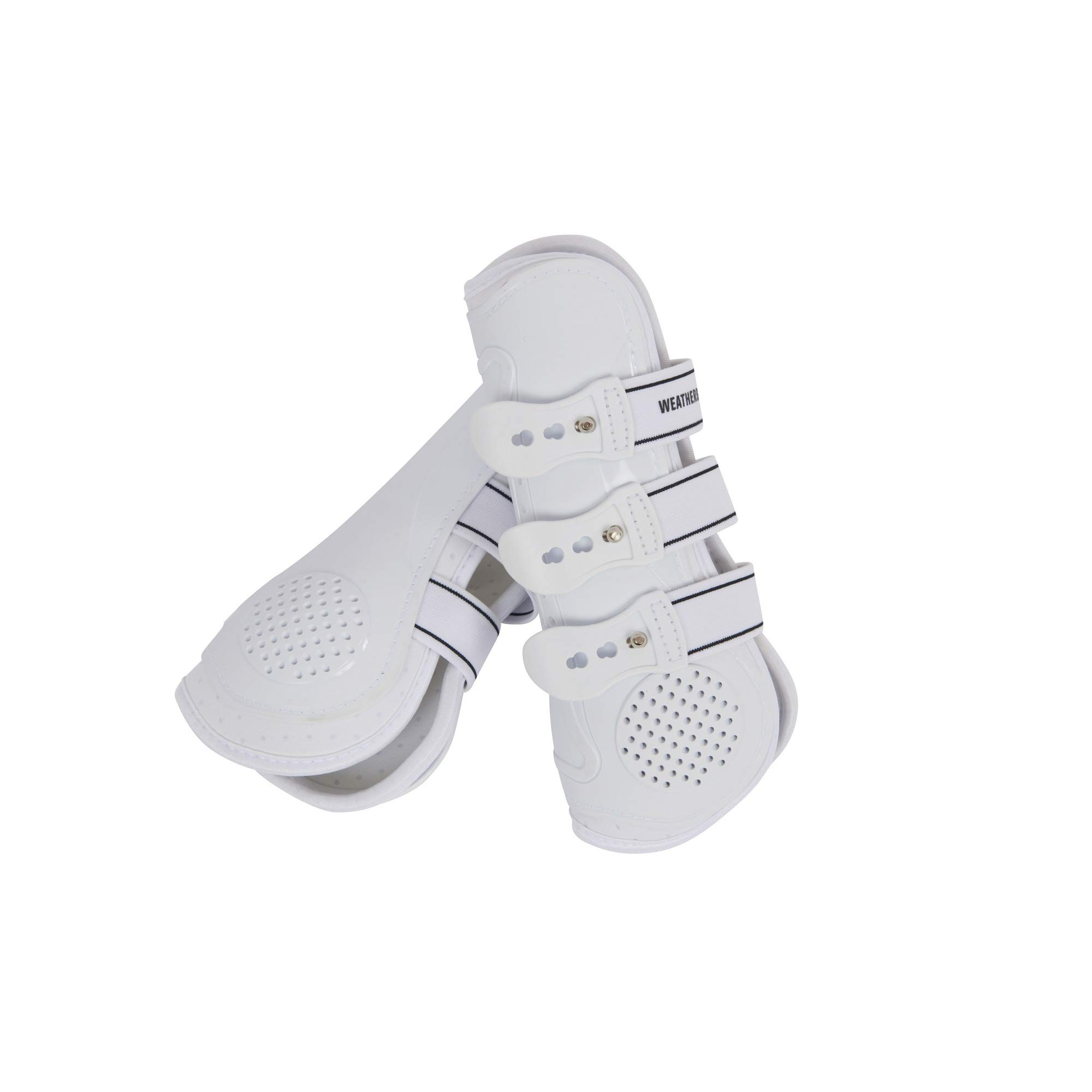 Weatherbeeta Pro Air Open Front Boots (Full) (White) by Weatherbeeta