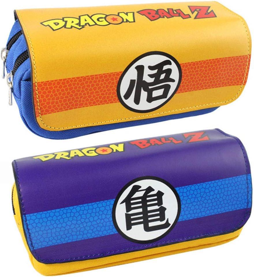 zhongjiany Dragon Ball Bolsa de lápices Estuche Papelería Bolsa Maquillaje Bolsa de cosméticos(Style02): Amazon.es: Oficina y papelería