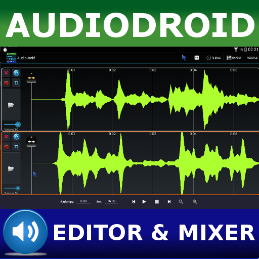 - AudioDroid : Audio Mix Studio Free