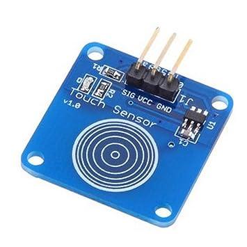 Interruptor táctil digital con sensor táctil para Arduino UNO, DUE, MEGA, de la marca Haljia: Amazon.es: Electrónica