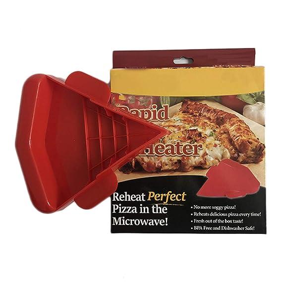 ZIFengw - Recalentador de Pizza para microondas: Amazon.es