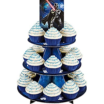 Treat Stand-Star Wars 12x16.5 Holds 24 Cupcakes