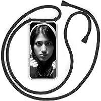 YuhooTech Hoesje met Koord voor iPhone 11 Pro Hoesje - Smartphone Telefoonhoesjes met Sleutelkoord - Telefoon Ketting…