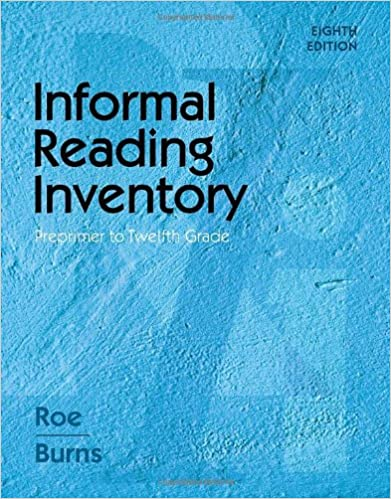 Informal Reading Inventory: Preprimer to Twelfth Grade (What's New ...