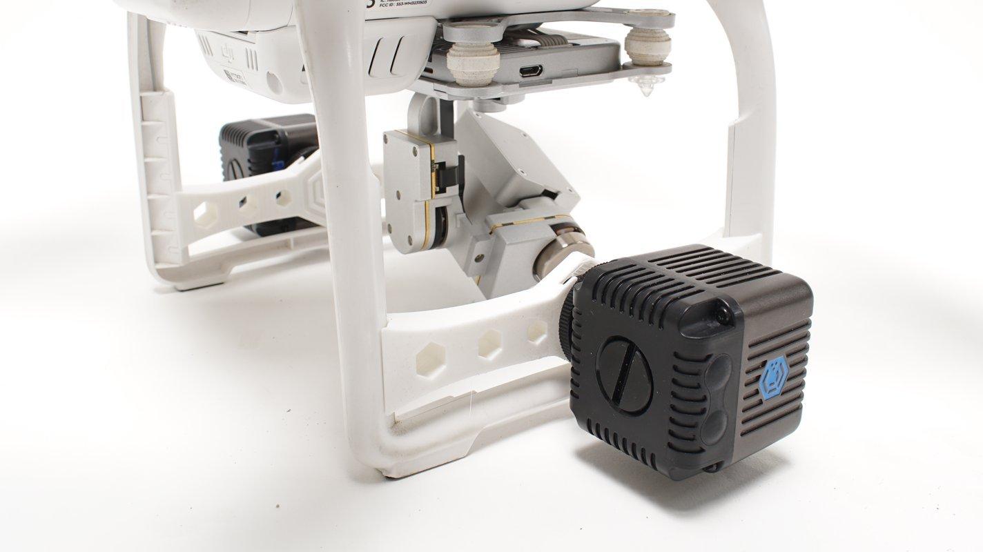 Lume Cube Lightweight Durable Drone Mounts for DJI Phantom 3 - White