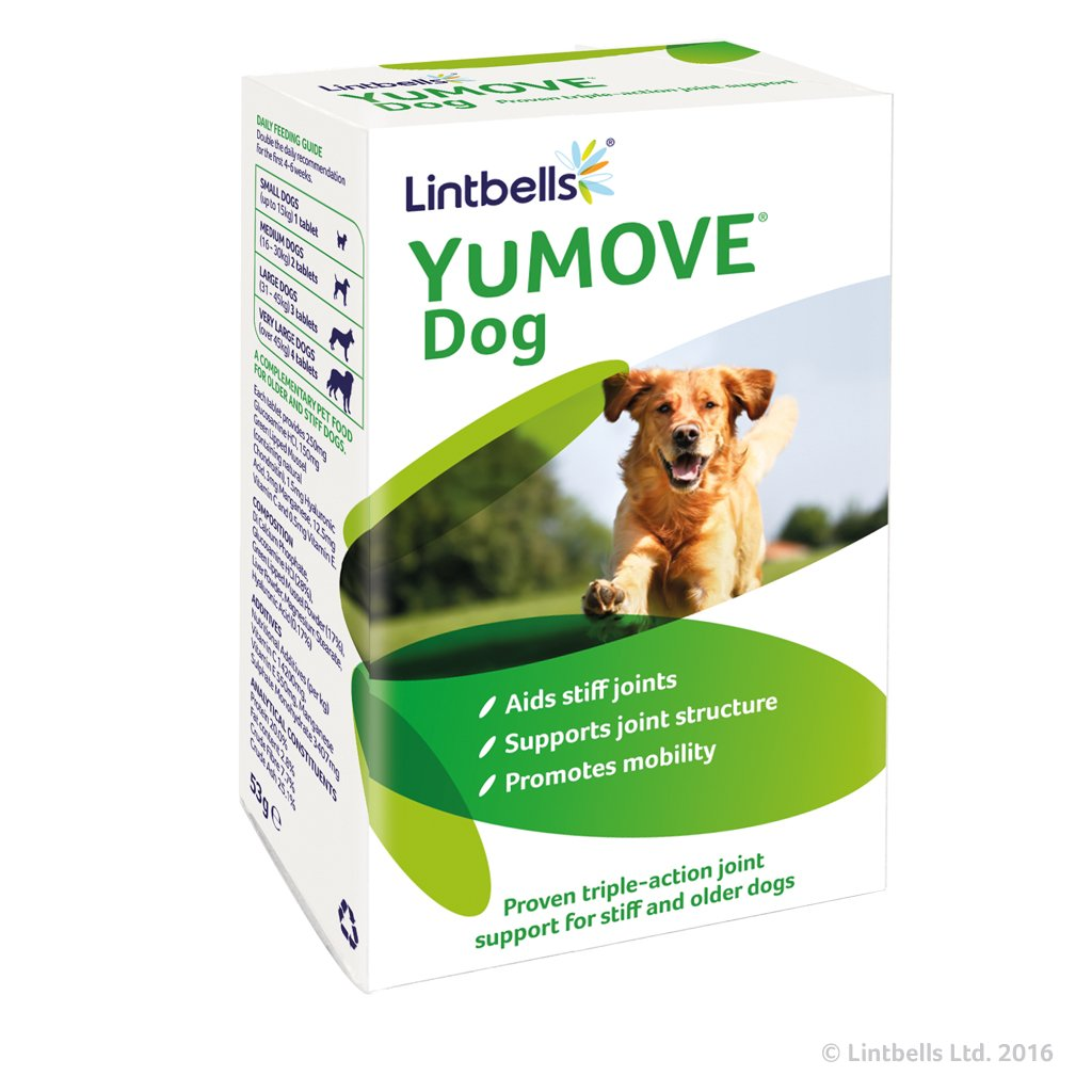 Lintbells YuMOVE Dog Mobility and Joint Health Supplement for Dogs 60 Tablets