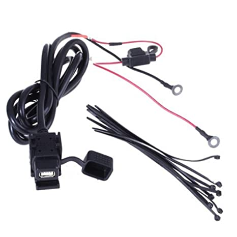 LEORX 12 V/24 V Motocicleta Bicicleta USB Power Supply ...
