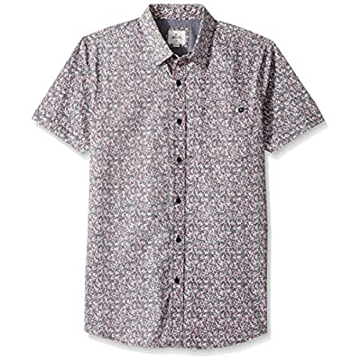 Hot Rip Curl Men's 4th of July Short Sleeve Shirt free shipping