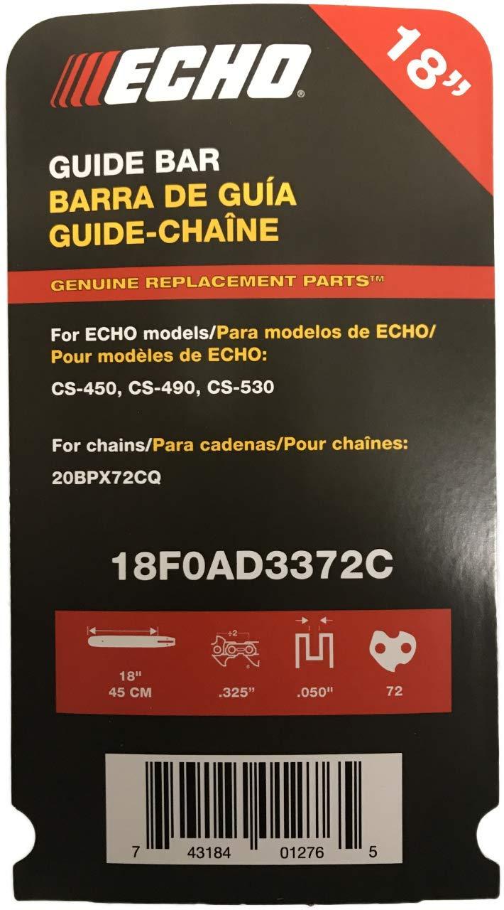 Echo 18F0AD3372C Chainsaw Bar 18''