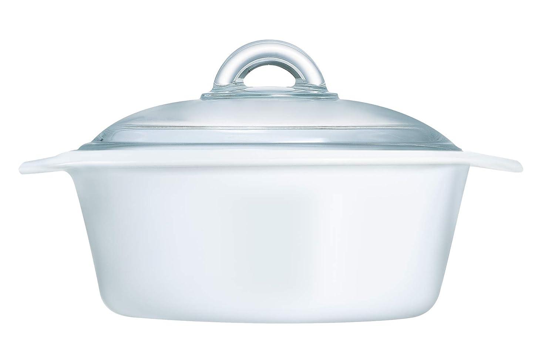 Luminarc Cacerola, Weiß, Transparent, 20 cm: Amazon.es: Hogar