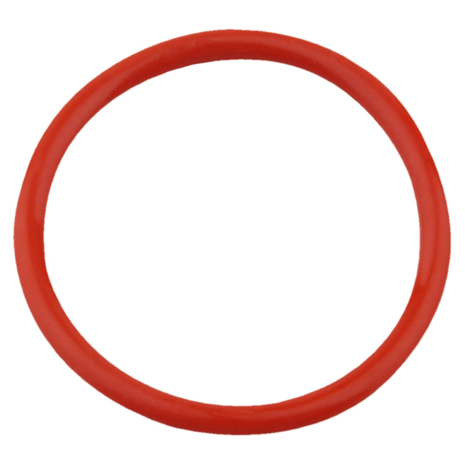 70A Durometer Pack of 10 2 OD,1//8 Width DERNORD Silicone O-Ring,1-3//4 ID Red