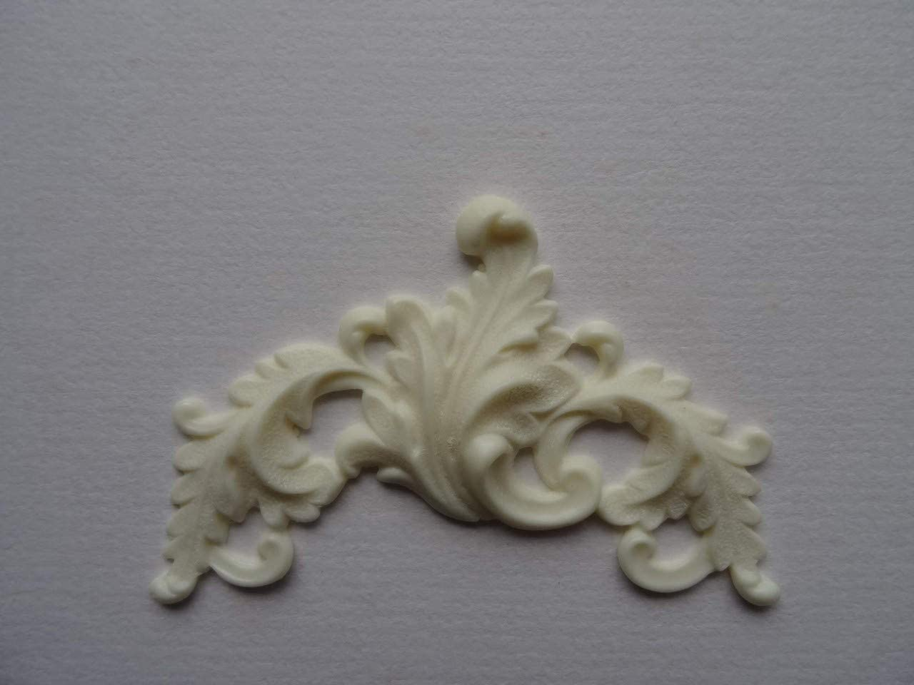 Decorative scroll applique onlay furniture moulding P17