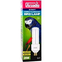 Arcadia FBC20 X Bird Lamp, Compact 20 W, Lámpara UV